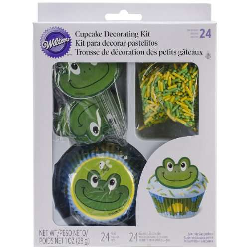 Wilton 415-2197 48 Count Frog Cupcake Decorating - Outlet Wilton