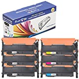 PrintOxe™ Compatible 6 PK for CLT-406S Laser Toners (1 Set+2 BK) ; 3 Black K406S , Cyan C406S , Magenta M406S , & Yellow Y406S . CLT406S for Use in Samsung Printer Models: CLP-365 , CLP-365W , CLX-3305FW , Xpress C410W , and C460FW . Exclusively sold by PanContinent