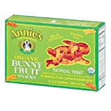 Annie's Homegrown – Organic Bunny Fruit Snacks Tropical Treat – 4 oz.