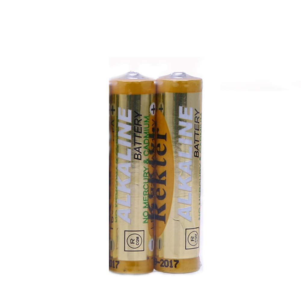 Zinc Manganese Battery,2Pcs AAA Batteries 700mAh 1.5V Zinc Manganese Battery Rekter 2pcs AAA Battery