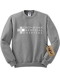 Grey Sloan Memorial Hospital Sweatshirt Sweater Crew Neck Pullover - Premium Quality