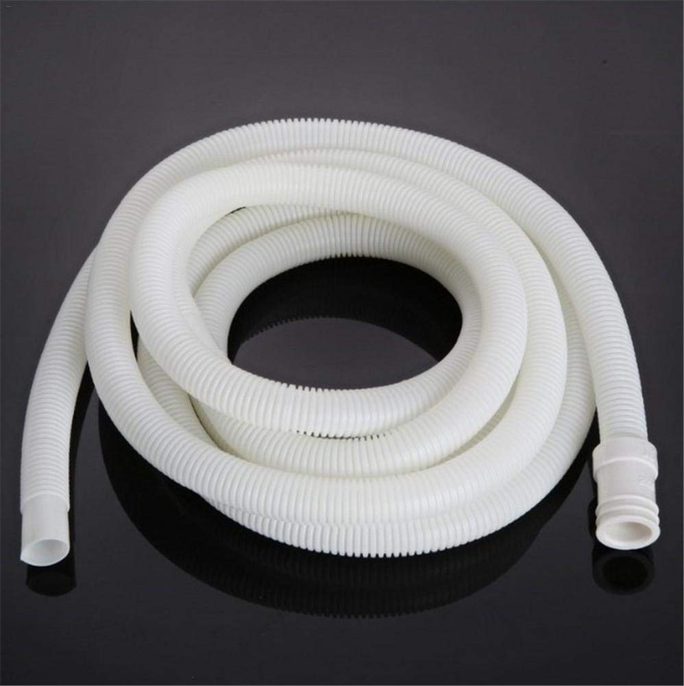 Washing Machine White Dishwasher Extension Pipe Vacuum Hose Spiral Hose Water Pipe For Air Conditioning yummyfood Drain Hose 1M