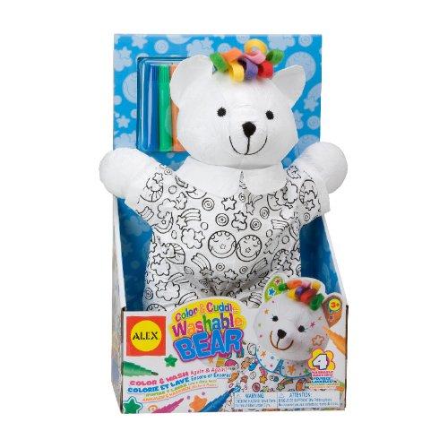 - ALEX Toys - Color a Bag! & Accessories Color And Cuddle Bear 69WB