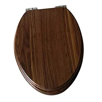 Astounding Amazon Com Toilet Seat Heavy Duty Wc Sitz Wooden Soft Slow Machost Co Dining Chair Design Ideas Machostcouk