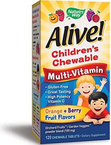 Alive! Multi-Vitamin Children's Chewables