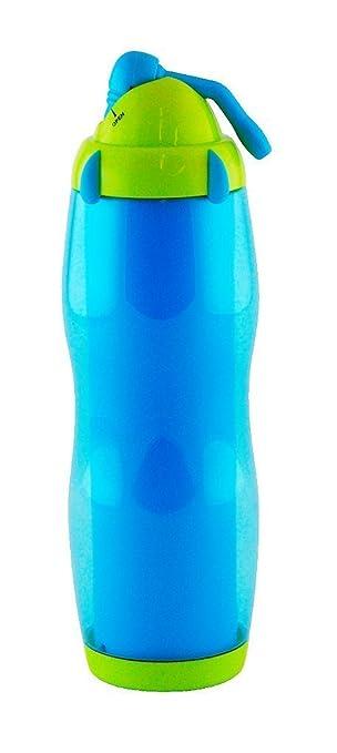 zak!designs 0085-0870E Cool Sip Bottle blau/grün 50 cl: Amazon.de ...