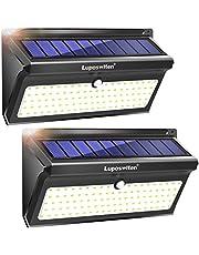 Focos Solares, Luposwiten 100 LED Lamparas Solares Exterior, 2000LM