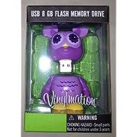 Disney Vinylmation Cutesters Purple Owl USB 8 GB Flash Memory Drive