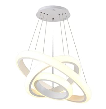 Ringleuchte Drei Ringe Hngelampe Wohnzimmer Modern Led Esstischlampe Rund Wohnzimmerlampe Pendelleuchten Decke Lampe Esstisch Licht Hngeleuchte