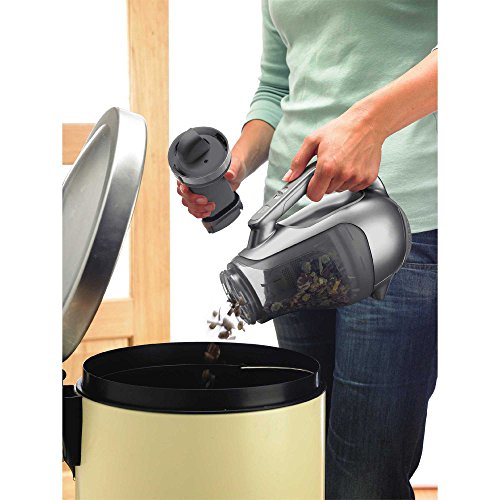 Black + Decker BDH2010LP Platinum Lithium Ion Battery Cordless Hand Vacuum
