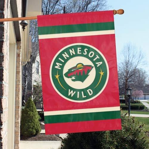 Minnesota Wild NHL Appliqu Banner Flag