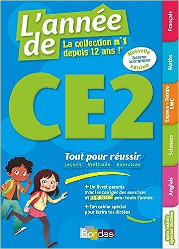 Amazon Fr L Annee De Ce2 Tout Pour Reussir Edition