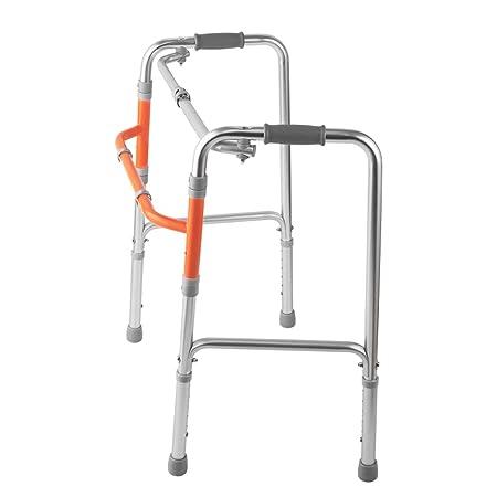 Hyzb Anciano Walker Bastón Plegable Dispositivo Auxiliar para ...