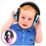 My Happy Tot Hearing Protection Earmuffs. Noise Canceling for Children & Infants, Fully Adjustable for 0-12 Yrs. Low Profile Cups, Padded 'Snug Fit' Professional Headphones for Kids