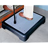 Good Ideas Non Slip Outdoor Step (1193) Half Step instantly reduces height of doorsteps. Mobility Aid.