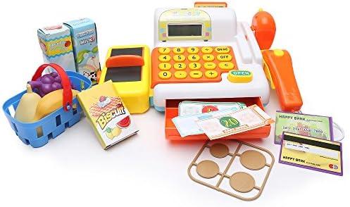 Wishtime supermercado Kitset caja registradora de juguete para ...