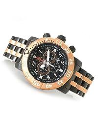 Invicta 17553 Men's Sea Base Titanium Black Polyurethane Limited Edition Watch