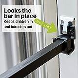 Ideal Security BK110W Patio Door Security Bar