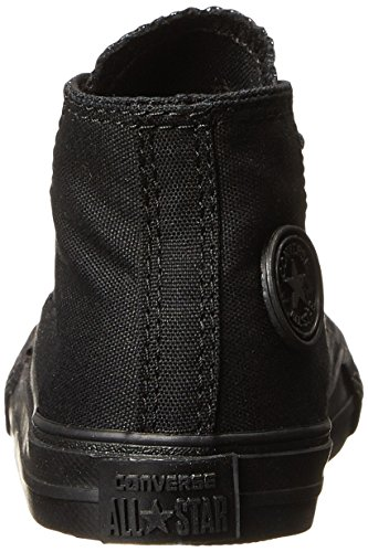 Monochrome Children's Trainers Unisex Taylor All Black Hi Chuck Star Converse nzP1Uwz