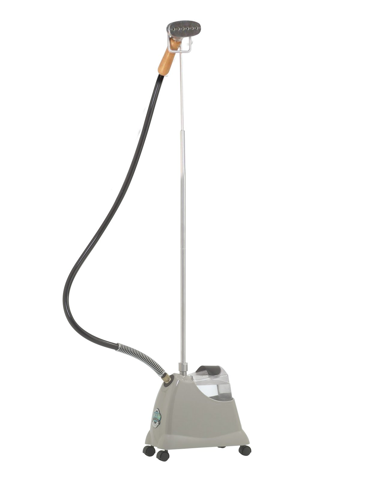 J-2000M Jiffy Garment Steamer with Metal Steam Head| residential series| 230V available for international use|| Voltage options available| Unbreakable 6'' Metal Head| Solid Wood Handle| 5.5' Hose|
