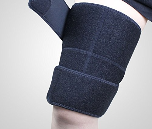 Support Fitness Leggings Sport Thigh Guard Muscle Strain Protector Muslo Pads Safety Suit Sports