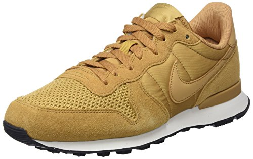 Nike Men's Internationalist Se Running Shoes, Grey Multicolour (Elemental Gold/Eleme 701)