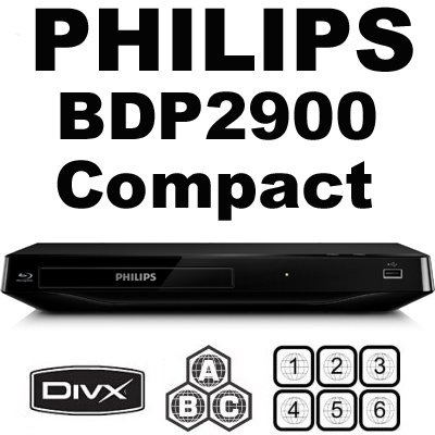 Philips BDP2900 Blu-ray Disc Player