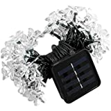 Solar LED String Lights Waterproof Christmas Ambiance Lights for Outdoor Lawn Fairy Garden Wedding and Christmas...