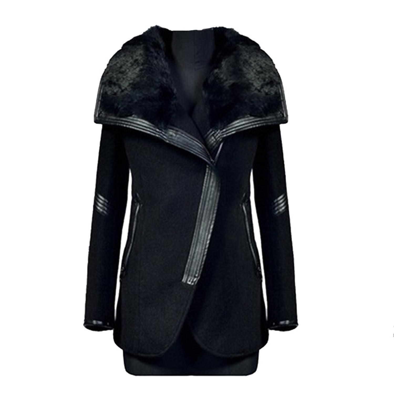 ipretty Neu Herbst Jacke damen Fashion parka damen herbst Mantel Damen Outerwear Coat Trenchcoat winterjacke große größen