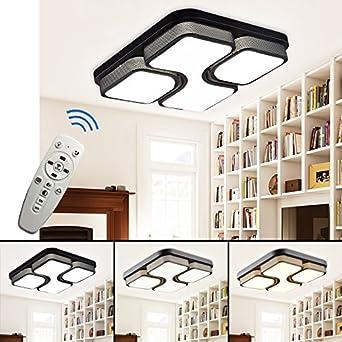 HGR 36W LED Deckenleuchte Wandlampe Deckenlampe Wohnzimmer Flur Dimmbar Beleuchtung