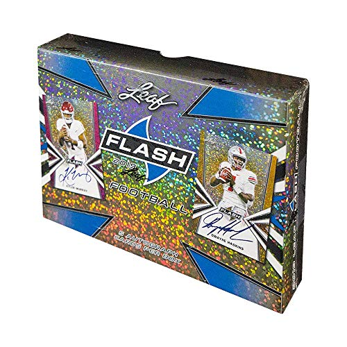 - 2019 Leaf Flash Hobby Football Box