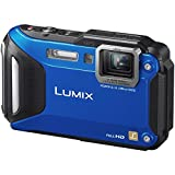 Panasonic DMC-FT5A 16.1 MP Waterproof Digital Camera with 3-Inch LCD (Blue)