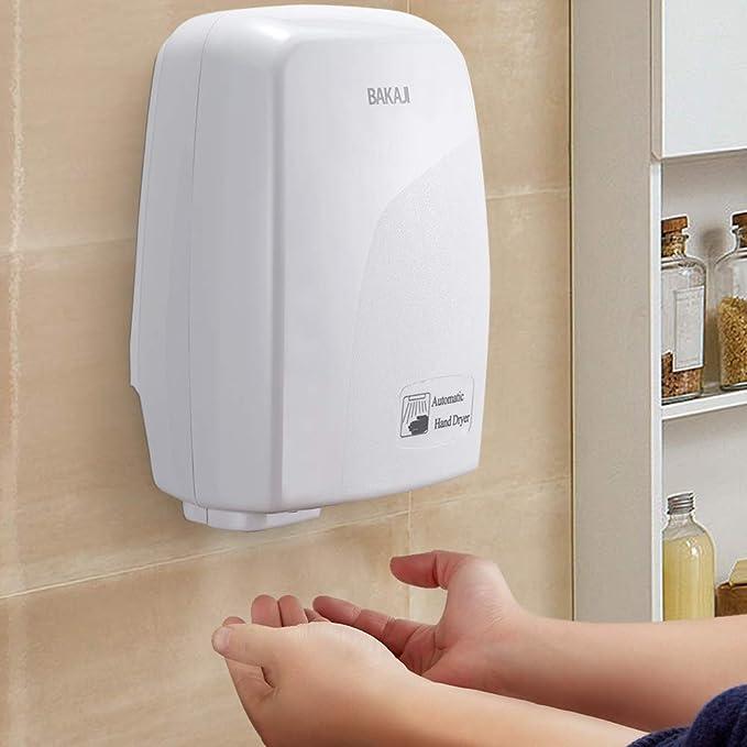 Acciaio inossidabile per gastronomia e commerciali Magic Stream Asciugamani Silenzioso /& potente Elettrico Si asciuga in 10 secondi 2300 W Sensore automatico per montaggio a parete