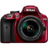 Nikon D3400 24.2 MP DSLR Camera + AF-P DX 18-55mm & 70-300mm NIKKOR Zoom Lens Kit + 64GB Memory Bundle + Nikon Photo Bag + Wide Angle Lens + 2x Telephoto Lens + Flash + Remote +Tripod+Filters from Nikon