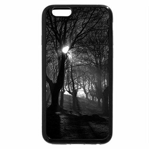 iPhone 6S Plus Case, iPhone 6 Plus Case (Black & White) - Autumn mist