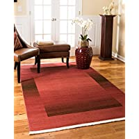 NaturalAreaRugs Bahama Modern Traditional Vintage Inspired Area Rug, Crafted by Artisan Rug Makers, Imported, 6 x 9