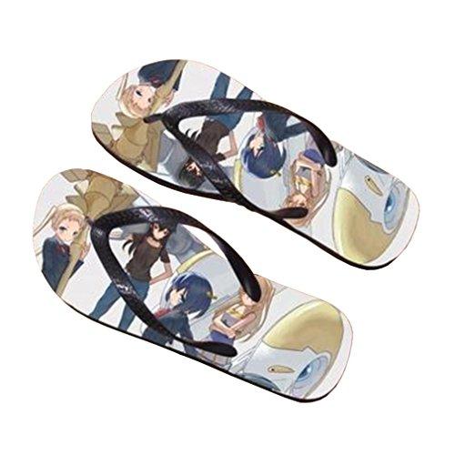 Bromeo Chuunibyou Demo Koi Ga Shitai Anime Unisex Flip Flops Chanclas 550