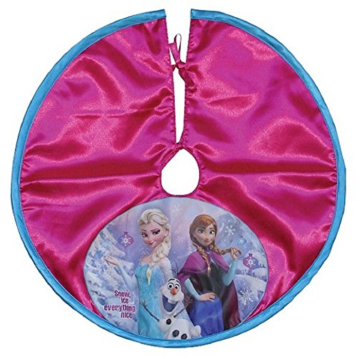 amazoncom disney frozen mini christmas tree skirt 18 home kitchen