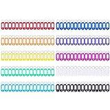 150 PCS Key Tags ID Plastic Tag with Split Ring Label Window, 10 Colors