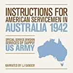 Instructions for American Servicemen in Australia 1942 |  Special Service Division, Services of Supply, U.S. Army