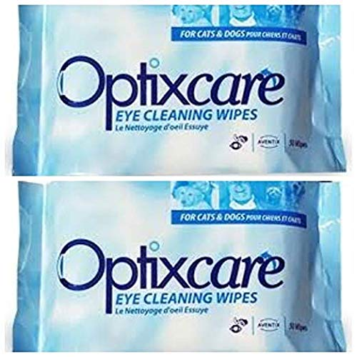 Optixcare Eye Cleaning Wipes (50 count) 2 Pack by OptixCare