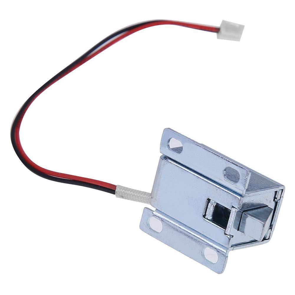 12 V Schublade Elektromagnetische Mini Anti Vibration Universal Eisen Durable T/ür Elektronische Symmetrische Design DC 6 V