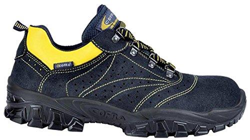 """Cofra NT 100-000.W37 S1 P SRC taglia 37 """"New Arno"""" Scarpe di sicurezza, colore: nero/giallo"""