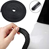Winunite Car Door Edge Guards 32Ft(10M) Universal Fit Rubber U Shape Edge Trim Car Door Edge Protection
