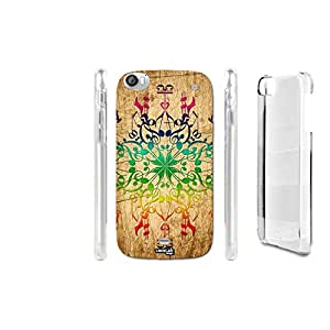 FUNDA CARCASA EFECTO MADERA TWENTYONE TRIBAL SIMBLE PARA WIKO DARKSIDE