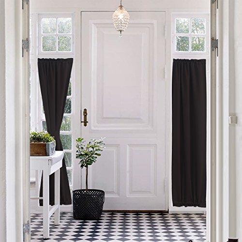 brown door curtain panel - 9