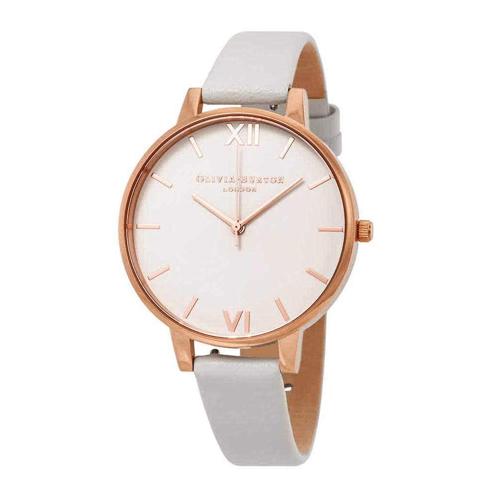 f71f07267680f Amazon.com  Olivia Burton Begin to Blush Dial Watch in Rose Gold  Watches