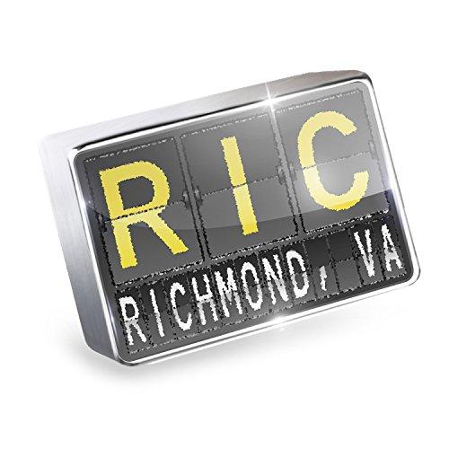 Floating Charm RIC Airport Code for Richmond, VA Fits Glass Lockets, - Richmond Glasses Va
