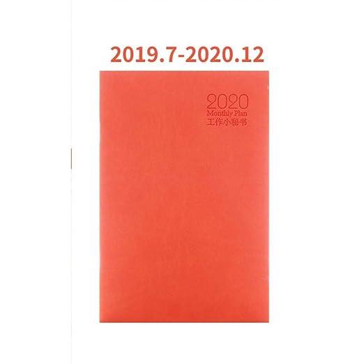 BJBCH Agenda Planificador De Cuaderno Boletín Mensual Diario ...