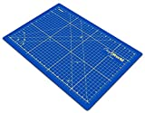 "Crafty World Professional Self-Healing Double Sided Rotary Cutting Mat, Long Lasting Thick Non-Slip Mat 18"" x 24"", 12"" x 18"", and 9"" x 12"" for Quilting, Sewing and All Arts & Crafts Projects"